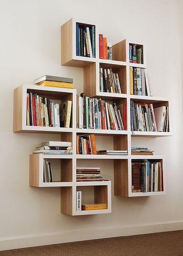 Book-shelf by disturbance, via Flickr   Bookshelves diy, Creative .
