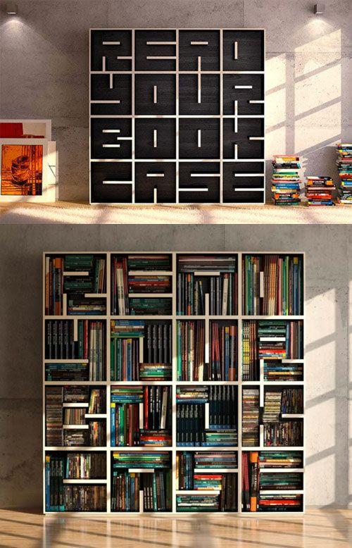 Creative Bookcase Designs   Creative bookcases, Bookcase design .