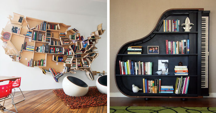 75 Of The Most Creative Bookshelves Ever   Bored Pan