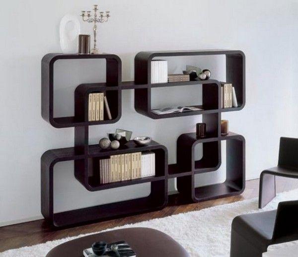 30 of the Most Creative Bookshelves Designs   Modern bookshelf .