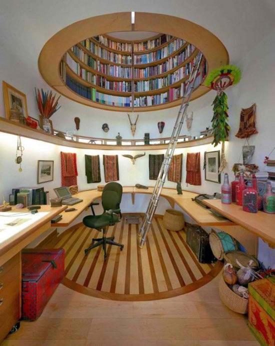 Cool Bookshelves: 40 Unique Bookshelf Design Ide