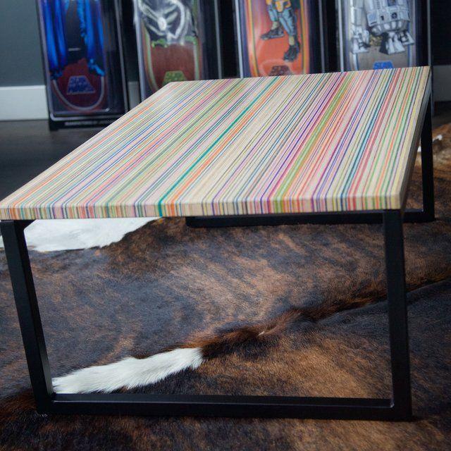 skateboard-coffee-table   Skateboard furniture, Coffee table .