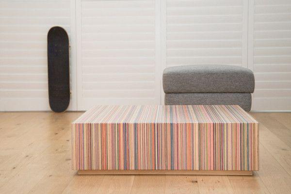 DecksPad skateboard coffee table   Skateboard furniture, Coffee .