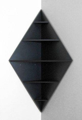 Core Deco | Matt W. Moore | Bookshelves diy, Corner shelves .