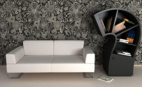 minimalist bookcase Archives - DigsDi