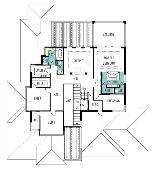 Pin by nermana orucevic on floorplans   Split level house plans .
