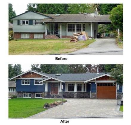 New Exterior Home Renovation Before And After Master Bedrooms .