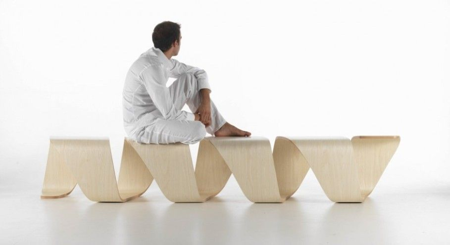Great Bright Bench Idea And Trendy Spiral Bench Theme Shaped .