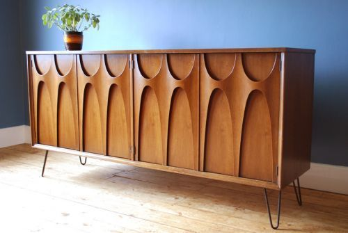 Mid-century furniture: This mid-century modern credenza will make .
