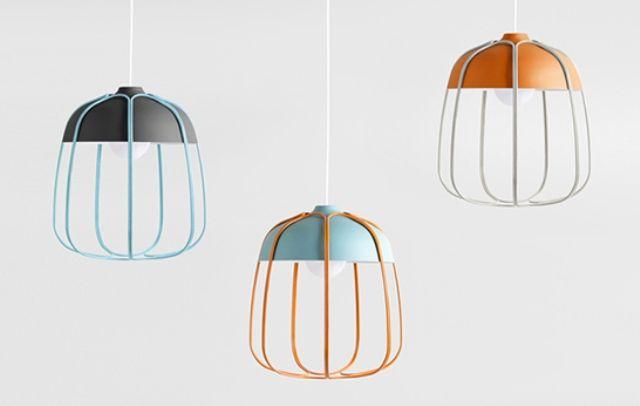 Current Lighting Trend: 25 Modern Cage Lamps   Lamp design, Metal .