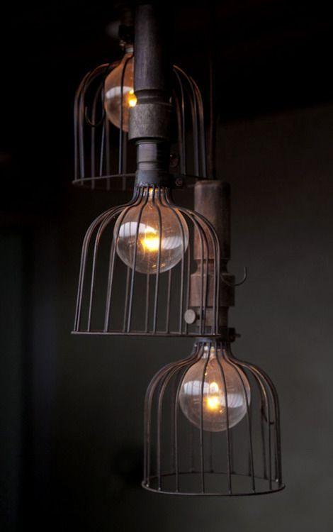 Current Lighting Trend: 25 Modern Cage Lamps   Aydınlatma .