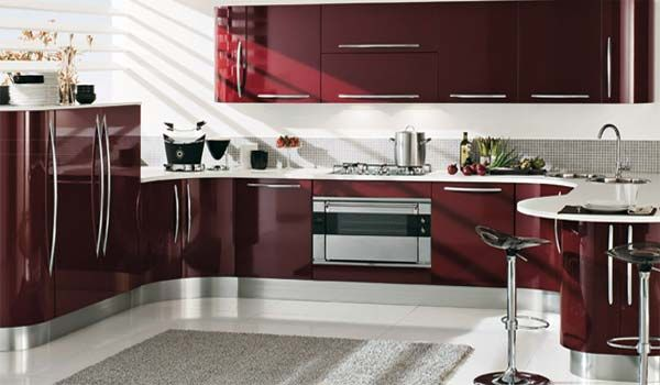 Venere Curved and Modern Kitchens by Record Cucine - Freshome.com .