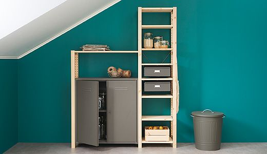 The IVAR storage system is an affordable and highly customizable .