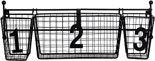 Amazon.com: JMiles UH-WS229 Numbered Hanging Storage Basket System .