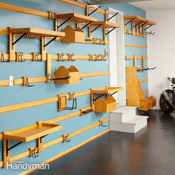 Customizable Garage Storage — The Family Handym
