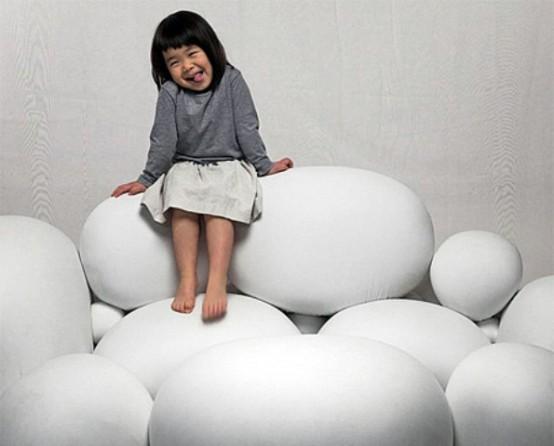 Cute And Versatile Marshmallows Sofa - DigsDi