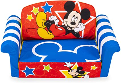 Amazon.com: Marshmallow Furniture, Children's 2-in-1 Flip Open .