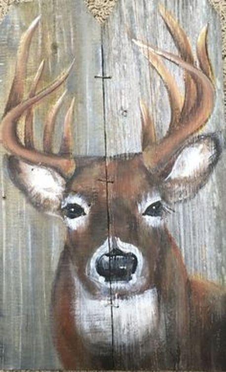 39 Cute Deer Decor Ideas For Cozy Christmas Spaces09   Deer decor .