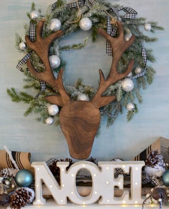 30 Cute Deer Décor Ideas For Cozy Christmas Spaces - DigsDi