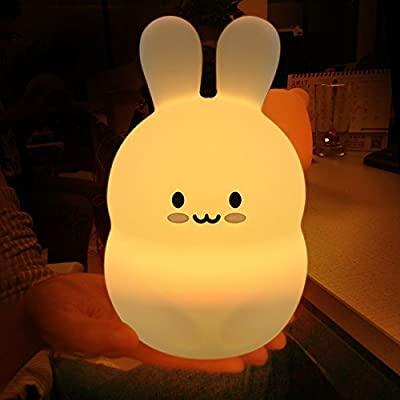 Amazon.com : Cute Nursery Night Light for Kids, iWheat Soft .