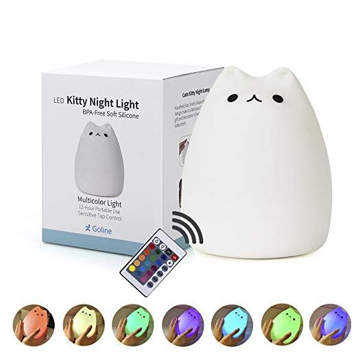 Amazon.com: GoLine Kids Room Lamp, Kids Night Lights for Bedroom .