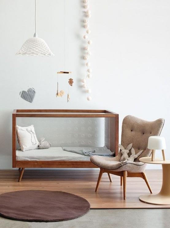 31 Cute Mid-Century Modern Kids' Rooms Décor Ideas - DigsDi