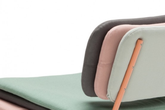 Cute Stack Chair Of Many Colorful Layers - DigsDi