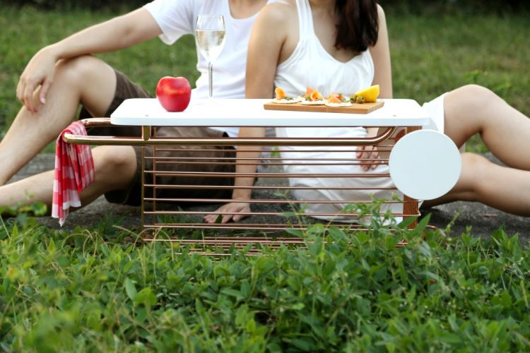 Cute Wago Trolley Table For Indoors And Outdoors - DigsDi