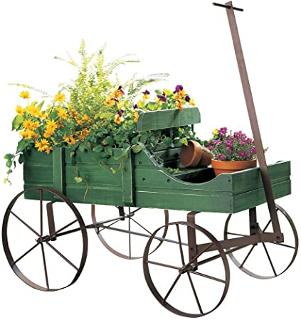 Amazon.com : Amish Wagon Decorative Indoor/Outdoor Garden Backyard .