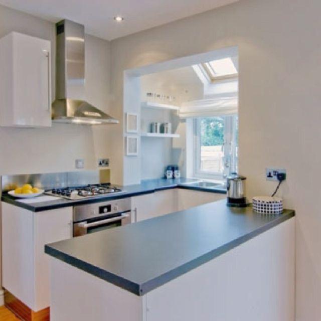 Cute simple kitchen ❤   Desain dapur modern, Interior dapur .
