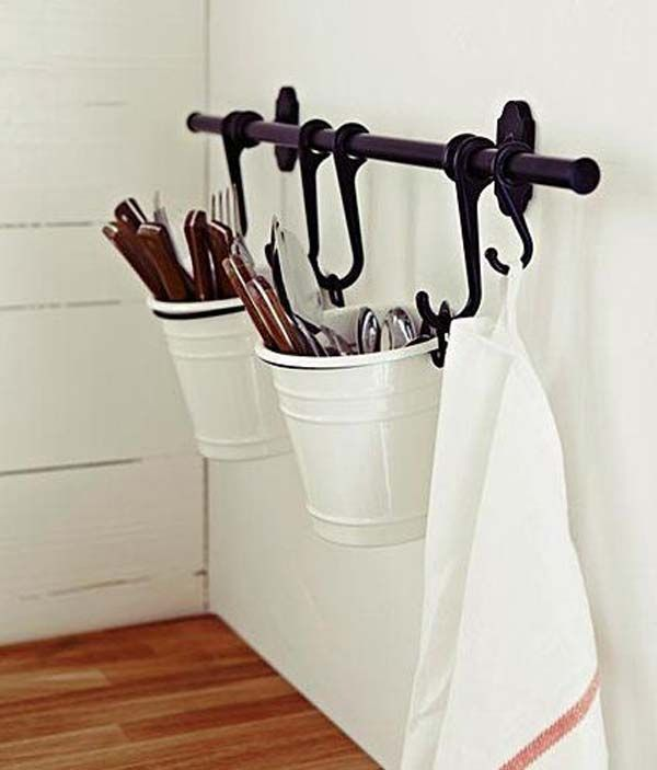 Top 27 Clever and Cute DIY Cutlery Storage Solutions .