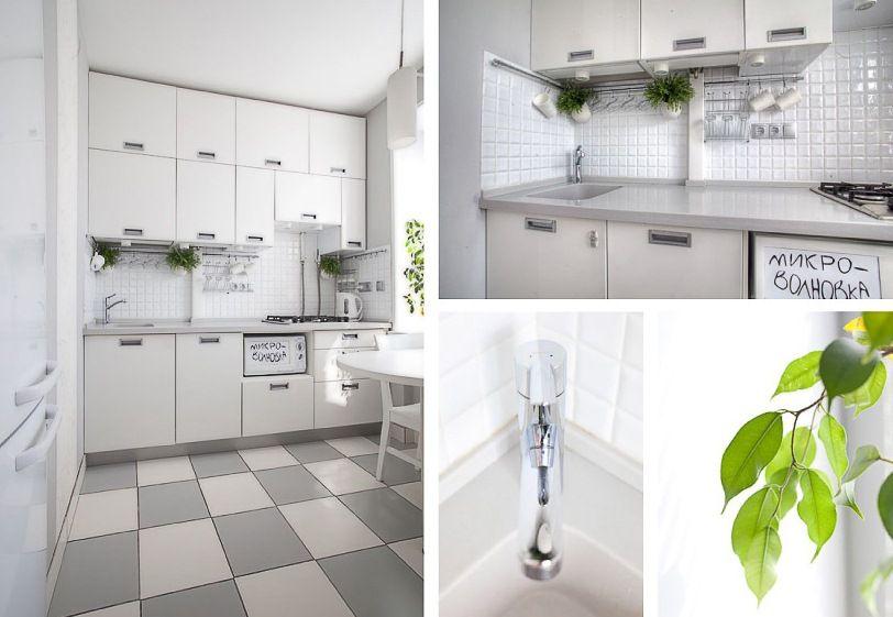 Cute White Kitchen Design With Smart Storage Solutions   Kitchen .