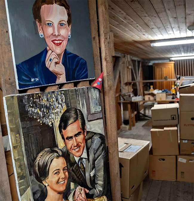 Royal family shares sneak peek inside the Queen's secret hideaway .