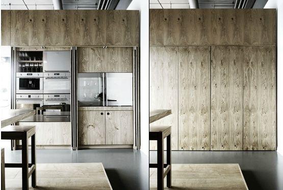 wooden kitchen, København Møbelsnedkeri KBH Push   Modern kitchen .