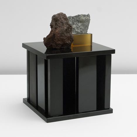 Formafantasma experiment with lava to form furniture collecti