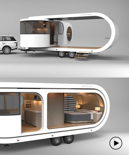 the futuristic romotow's expandable deck makes it the perfect .