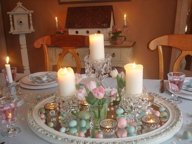 vintage easter decorations   Easter Home Decor Ideas – Robin's Egg .
