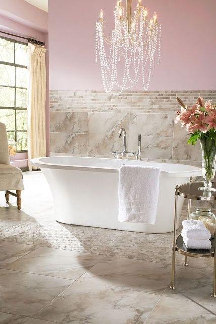 70 Delicate Feminine Bathroom Design Ideas | Feminine bathroom .