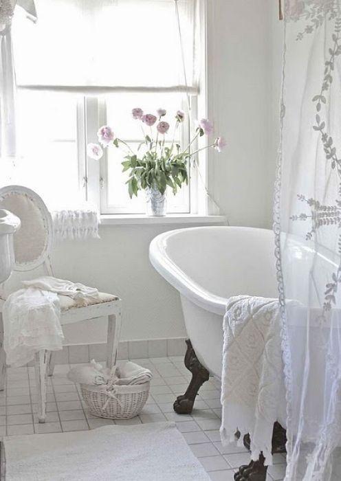 70 Delicate Feminine Bathroom Design Ideas | Chic bathroom decor .