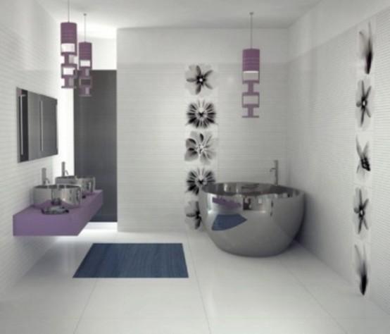 70 Delicate Feminine Bathroom Design Ideas - DigsDi