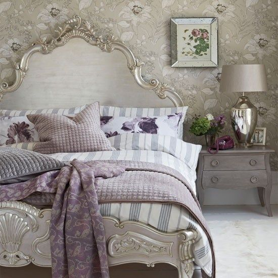 Pin by Bayan Aldubayan on Home decoration | Silver bedroom, Home .