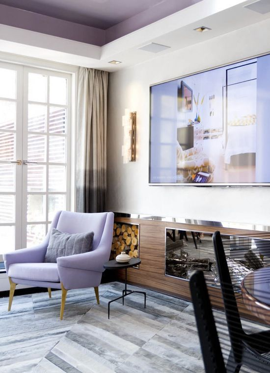 39 Delicate Home Décor Ideas With Lavender Color - DigsDi