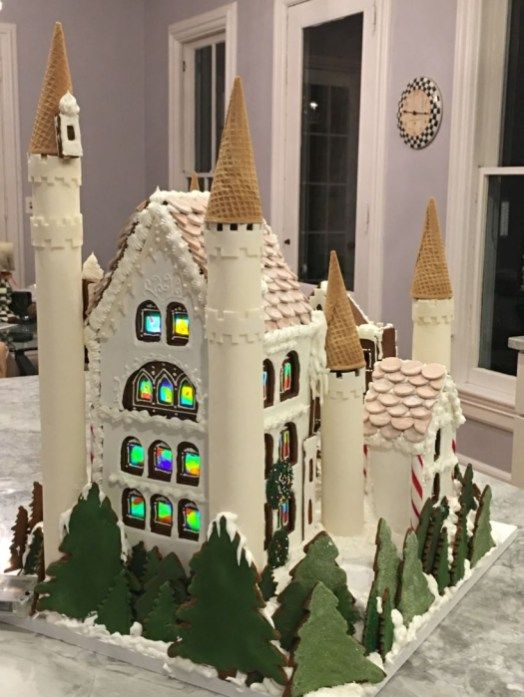 49 Delicious Gingerbread Christmas Home Decoration Ideas (With .