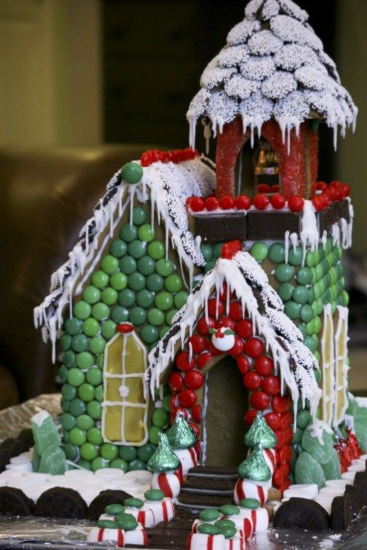 49 Delicious Gingerbread Christmas Home Decoration Ideas .