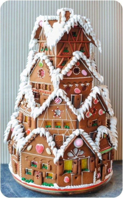 Delicious gingerbread christmas home decoration ideas 02 .