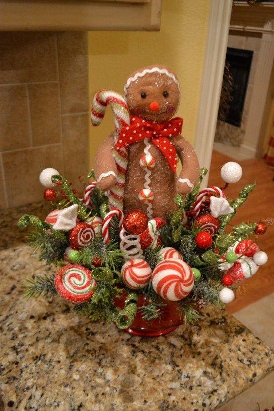 24 CUTE CHRISTMAS GINGERBREAD DECORATION IDEAS..... - Godfather .