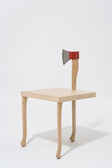 Best Friends Chair' by Martin Mostböck | Weird furniture, Art .
