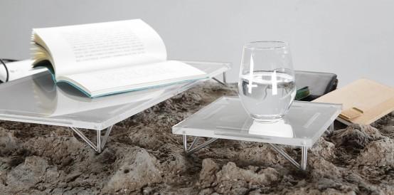 Unique Desk That Mimics Natural Landscape - DigsDi