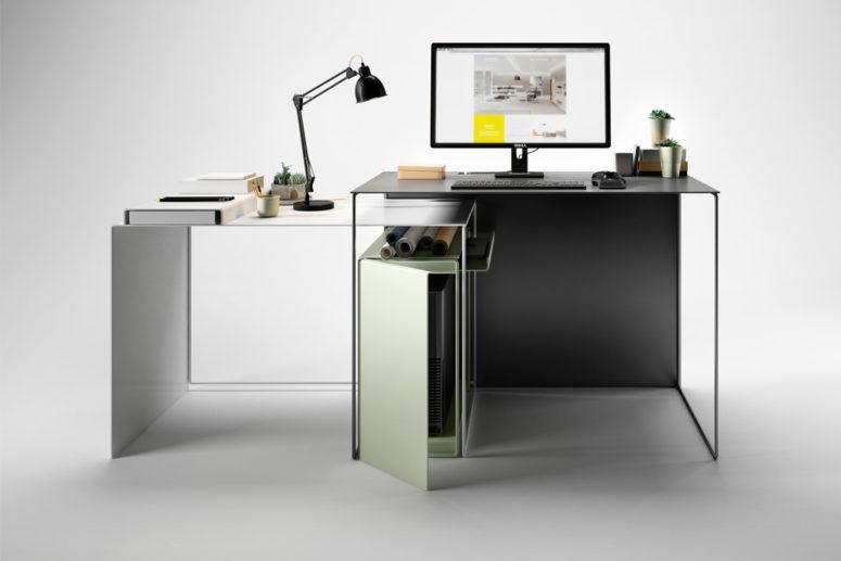 contemporary desks Archives - DigsDi