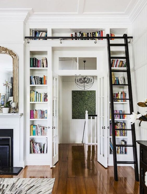 27 Doorway Wall Storage Solutions For Small Spaces - DigsDi